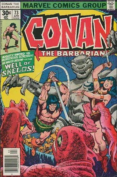 Conan the Barbarian (1970) 73-A by Marvel