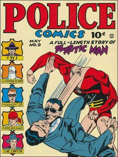 Police Comics 9-A by Comic Magazines