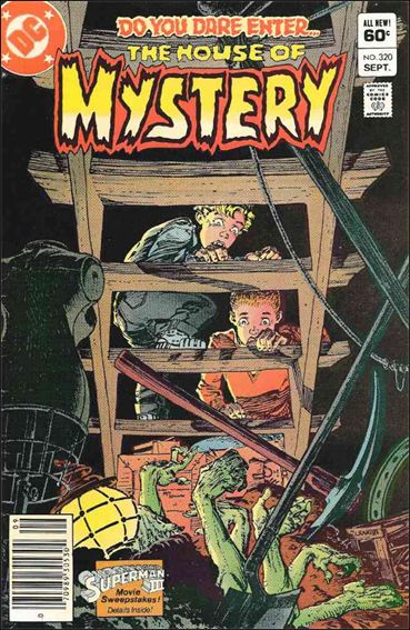House of Mystery (1951) 320-A by DC