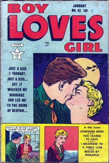 Boy Loves Girl 42-A by Lev Gleason Productions