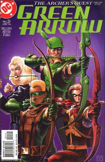 Green Arrow (2001) 21-A by DC