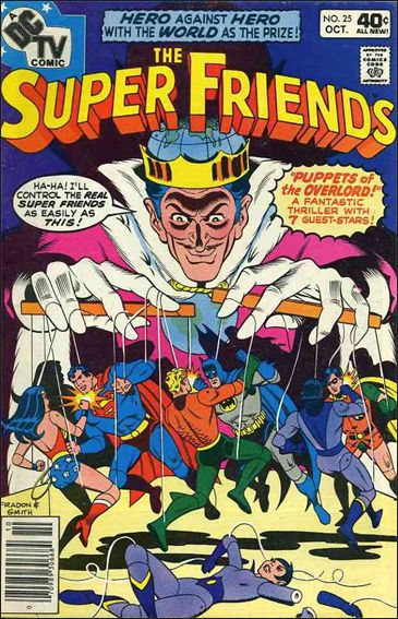 Super Friends (1976) 25-A by DC