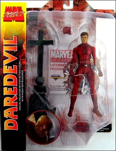 Marvel Select Daredevil (Unmasked) by Diamond Select