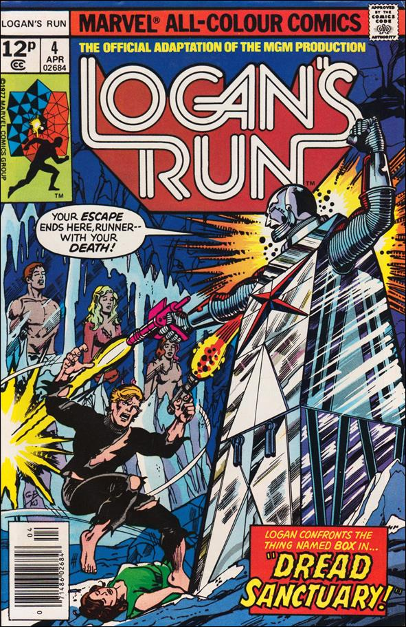 Logan's Run (1977) 4-B by Marvel