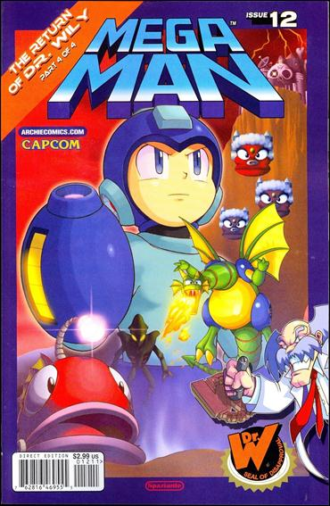 Mega Man 12-A by Archie
