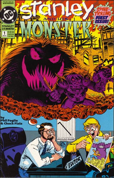 Stanley and His Monster (1993) 1-A by DC