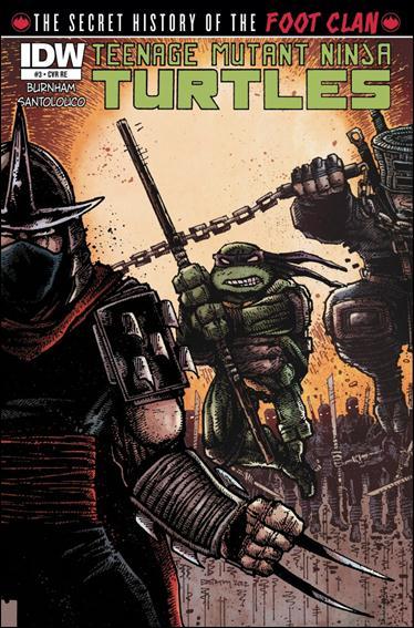 Teenage Mutant Ninja Turtles: The Secret History of the Foot Clan 3-C by IDW
