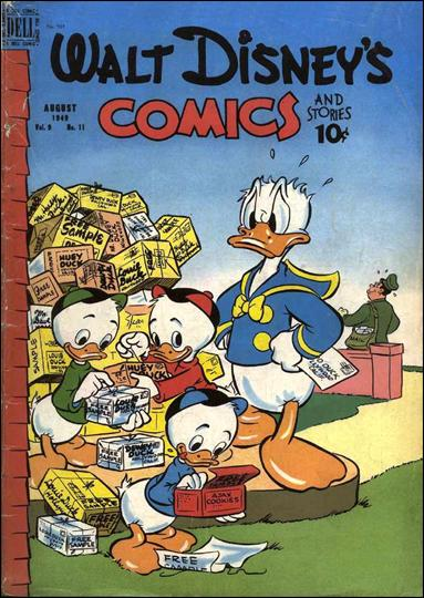 Walt Disney's Comics and Stories (1940) 107-A by Dell