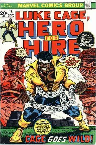 Hero for Hire 15-A by Marvel