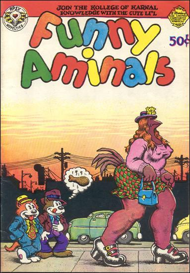 Funny Aminals (1972) 1-A by Apex Novelties