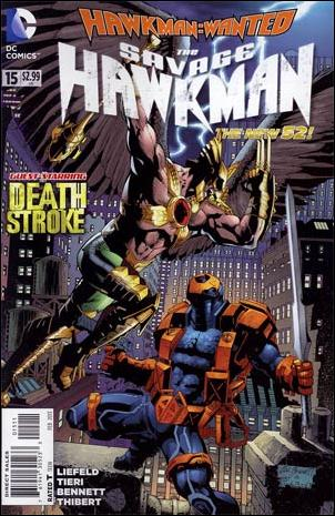 Savage Hawkman 15-A by DC