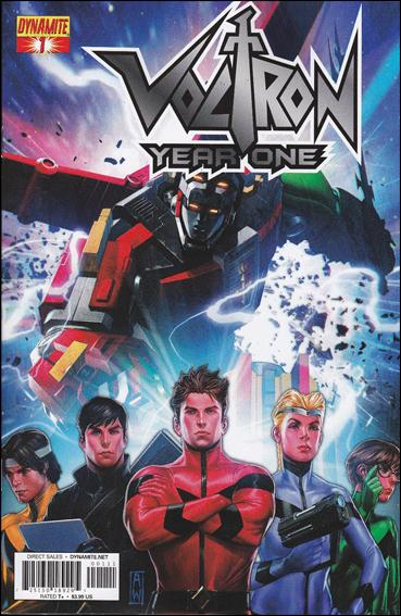 Voltron: Year One 1-A by Dynamite Entertainment