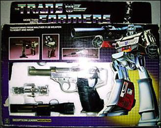 Transformers: More Than Meets the Eye (Generation 1) Megatron (Decepticon Leader) by Hasbro