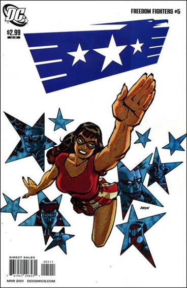 Freedom Fighters (2010) 5-A by DC