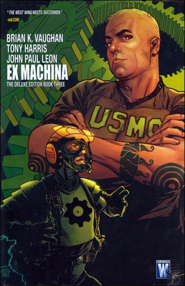 Ex Machina: The Deluxe Edition 3-A by WildStorm