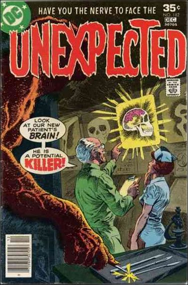 Unexpected (1968) 182-A by DC