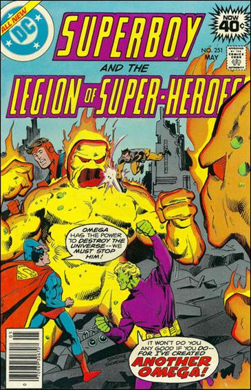 Superboy and the Legion of Super-Heroes 251-A by DC