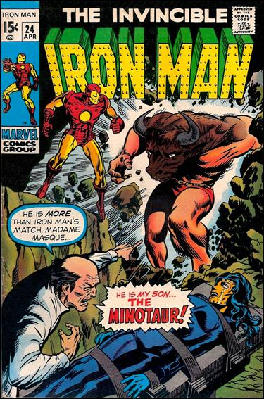 Iron Man (1968) 24-A by Marvel