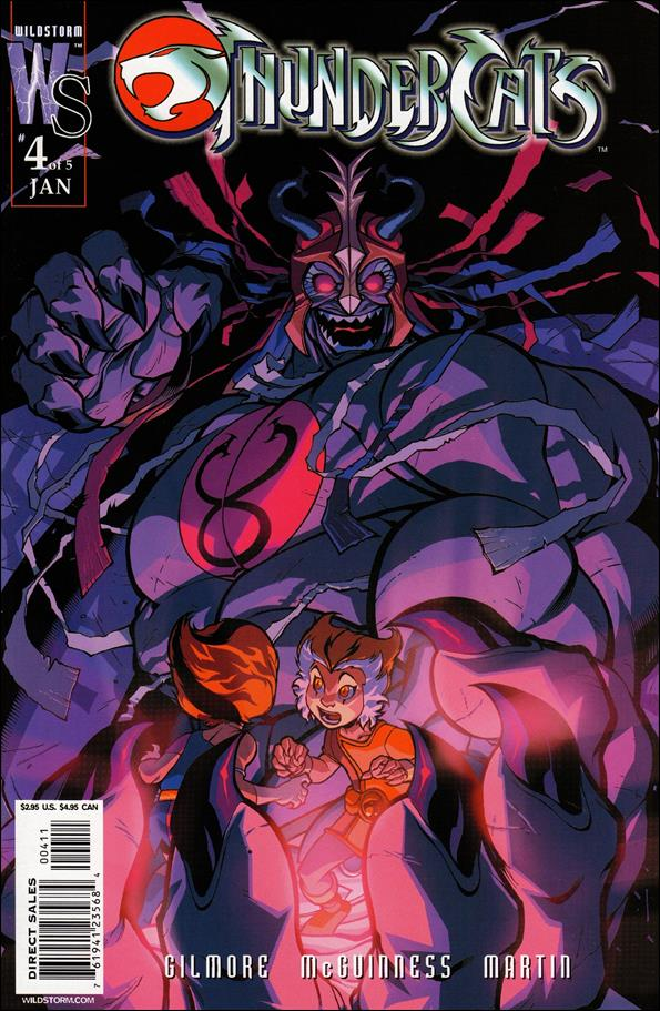 ThunderCats (2002) 4-B by WildStorm