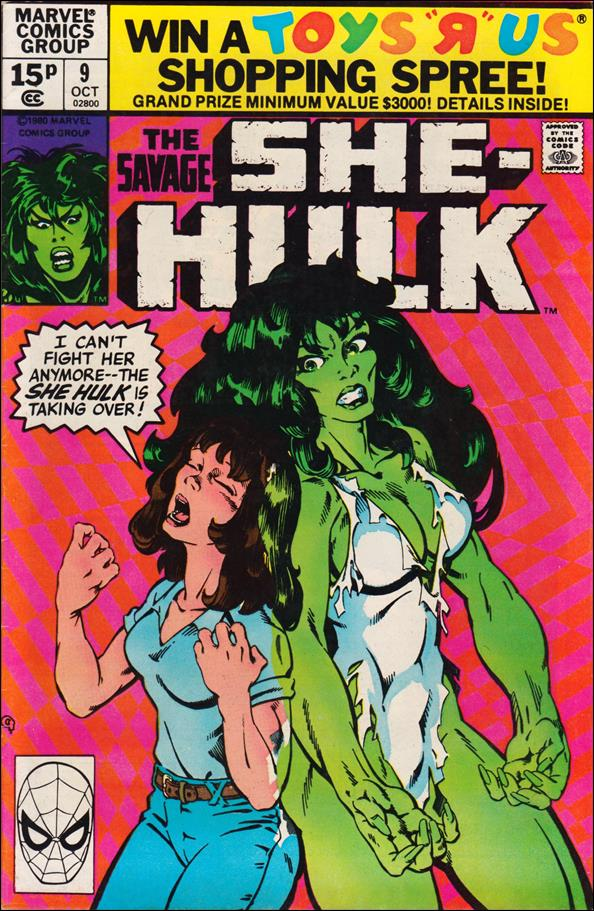 Savage She-Hulk 9-B by Marvel