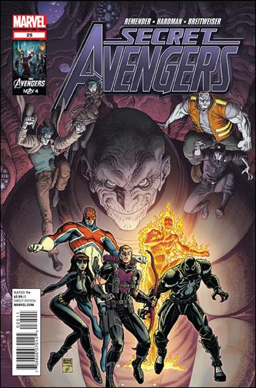 Secret Avengers (2010) 25-A by Marvel