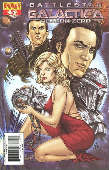 Battlestar Galactica: Season Zero 3-A by Dynamite Entertainment