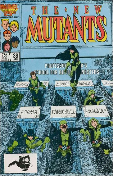 New Mutants (1983) 38-A by Marvel