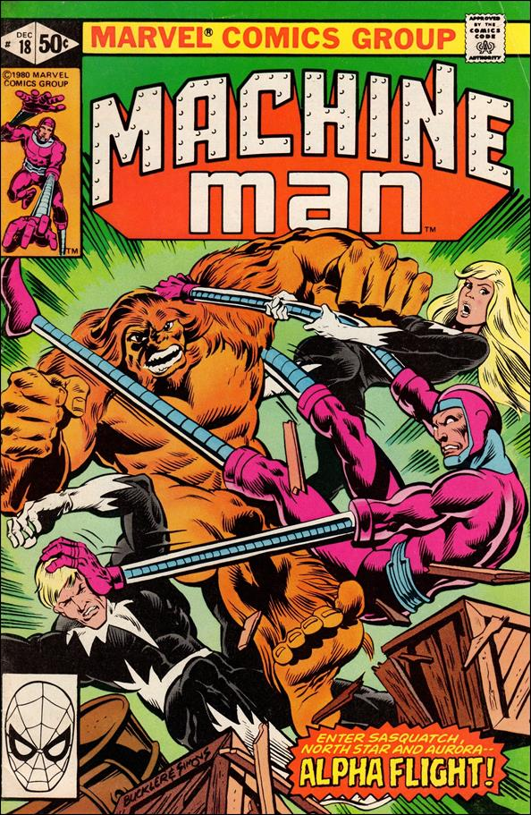Machine Man (1978) 18-A by Marvel