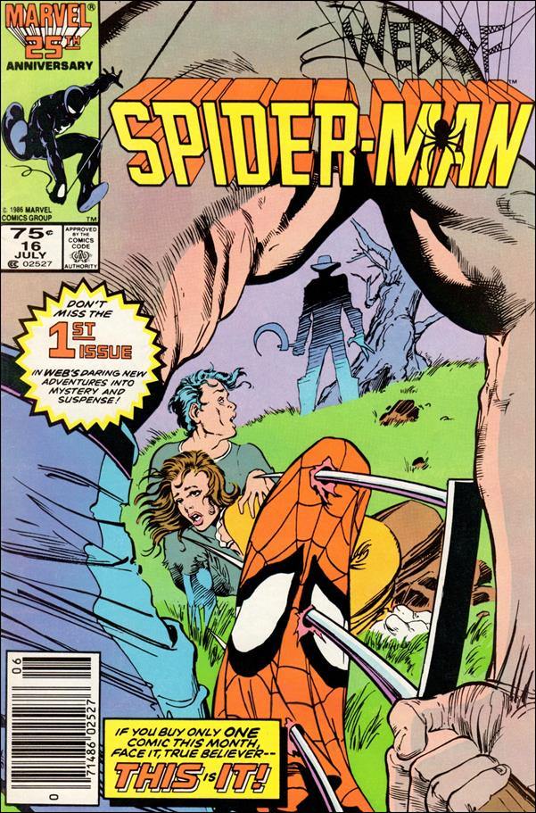 Web of Spider-Man (1985) 16-A by Marvel