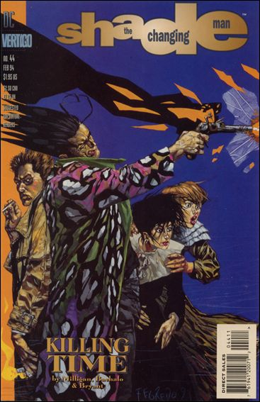 Shade, the Changing Man (1990) 44-A by Vertigo