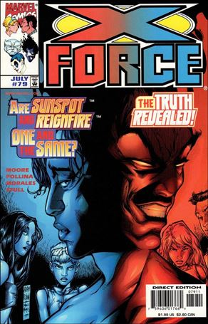 X-Force (1991) 79-A