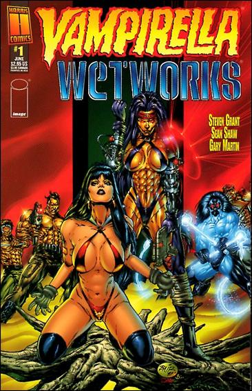 Vampirella/Wetworks 1-A by Harris