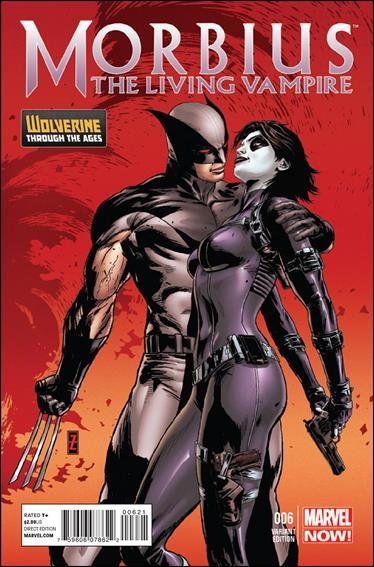 Morbius: The Living Vampire (2013) 6-B by Marvel