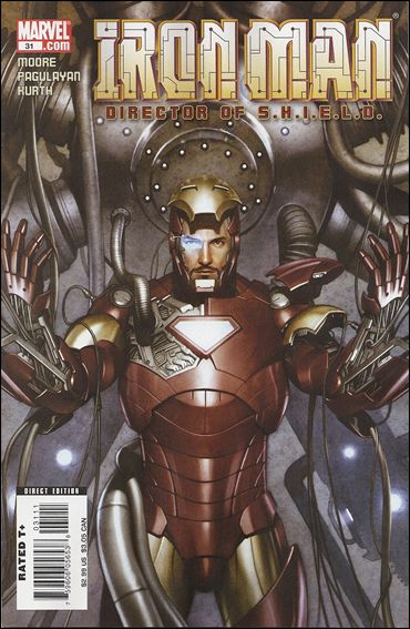 Iron Man: Director of S.H.I.E.L.D. 31-A by Marvel