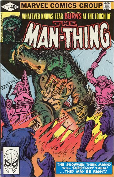 Man-Thing (1979) 3-A by Marvel