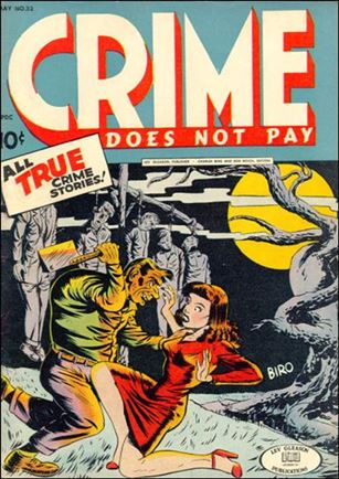 Crime Does not Pay 33-A