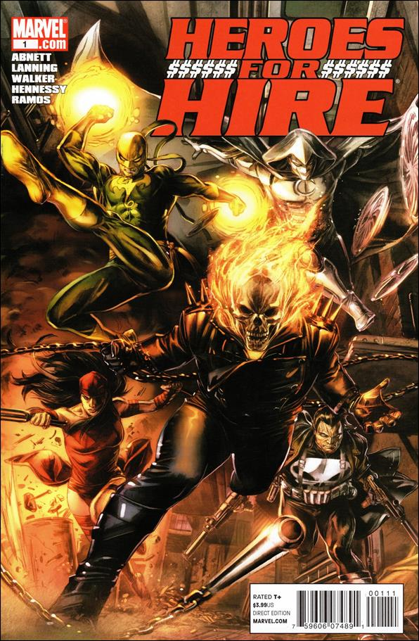 Heroes for Hire (2011) 1-A by Marvel