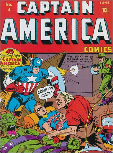 Captain America Comics (1941) 4-A by Timely