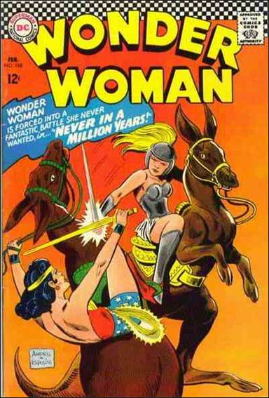 Wonder Woman (1942) 168-A by DC