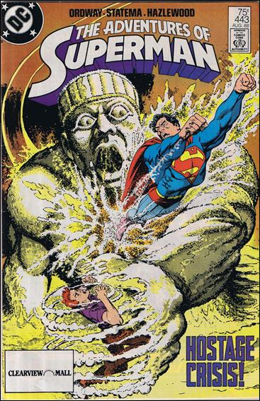 Adventures of Superman (1987) 443-C by DC