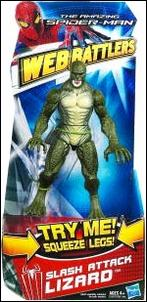 Amazing Spider-Man (Web Battlers)  Slash Attack Lizard by Hasbro