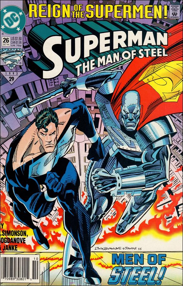 Superman: The Man of Steel 26-A by DC