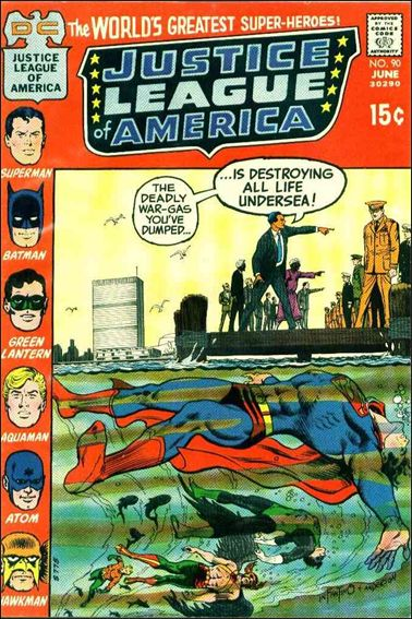 Justice League of America (1960) 90-A by DC