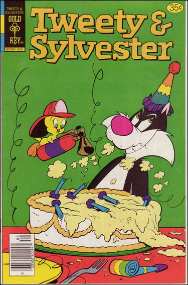 Tweety and Sylvester (1963) 85-A by Gold Key