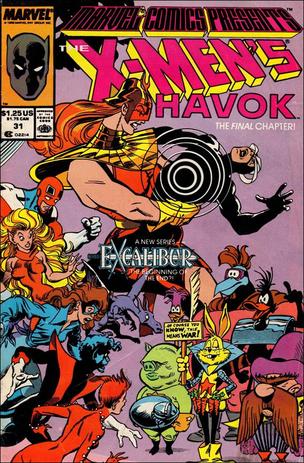 Marvel Comics Presents (1988) 31-A by Marvel