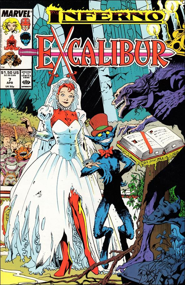 Excalibur (1988) 7-A by Marvel