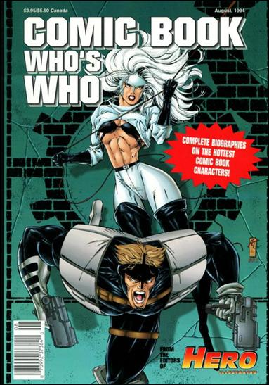 Comic Book Who's Who 1-A by Warrior Publications