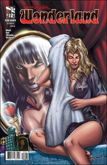 Grimm Fairy Tales Presents Wonderland 12-B by Zenescope Entertainment