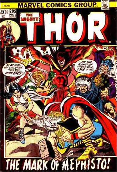 Thor (1966) 205-A by Marvel