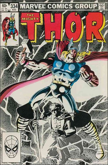 Thor (1966) 334-A by Marvel